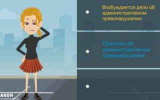 Составление протокола административного правонарушения: основания и порядок