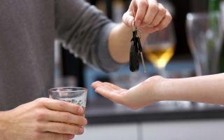 Передача руля лицу в состоянии алкогольного опьянения: ответственность и наказание