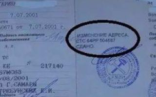 Замена птс — паспорта транспортного средства