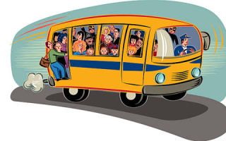 Штраф за перевозку людей в кузове автомобиля