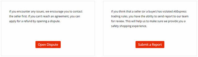 Как написать жалобу на продавца на АлиЭкспресс: инструкция