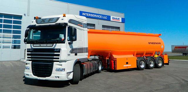 ДОПОГ: дорожная перевозка опасных грузов