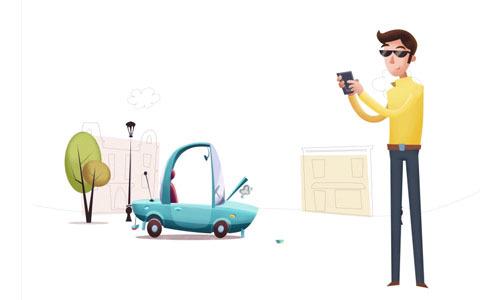Задели машину во дворе или на стоянке и уехали: последствия и наказания