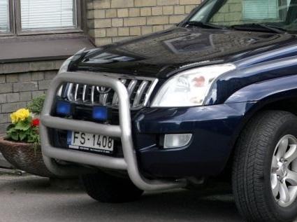 Штраф за установку кенгурятника на автомобиль