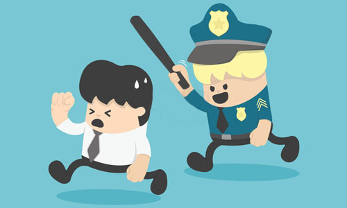 Штраф за неостановку по требованию инспектора и невыполнение требований сотрудника ГИБДД