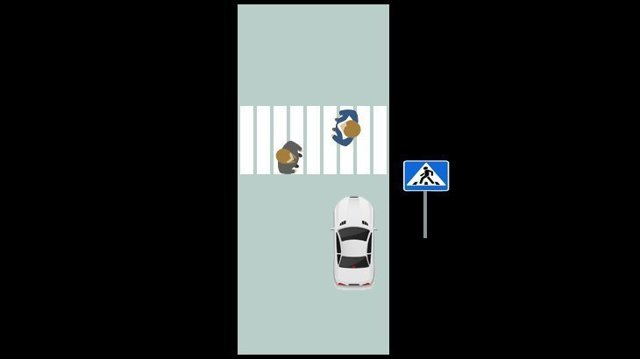 Правила проезда пешеходного перехода и штраф за остановку около него