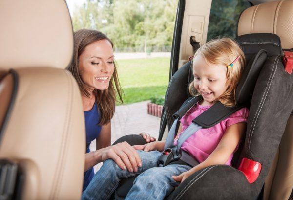 Штраф за отсутствие детского кресла в машине