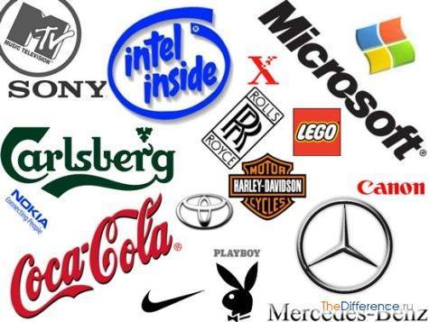 Фирменный знак: его особенности и отличия