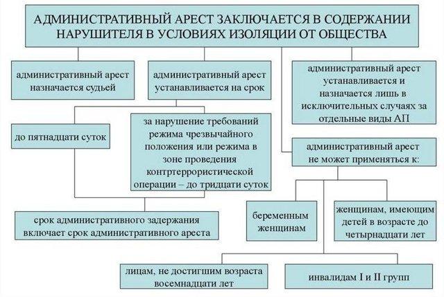 Административный арест за нарушение ПДД: основания и последствия