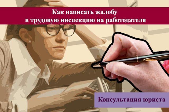 Как пожаловаться на работодателя в трудовую инспекцию: образец заявления и возможные исходы