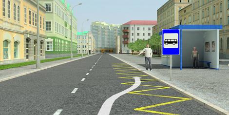 Остановка на автобусной остановке: разрешена ли и какой штраф