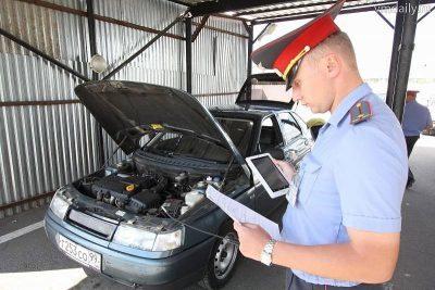 Сверка номеров двигателя при постановке на учет