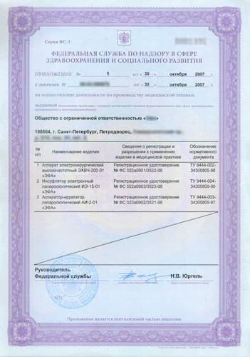 Лицензия на производство медицинской техники: условия и порядок получения
