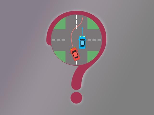 Обгон на перекрестке: разрешен или нет и какой штраф
