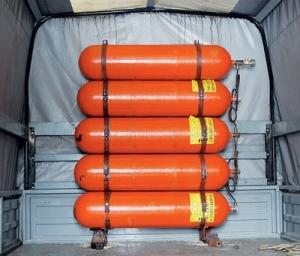 Правила перевозки газовых баллонов в легковых и грузовых автомобилях