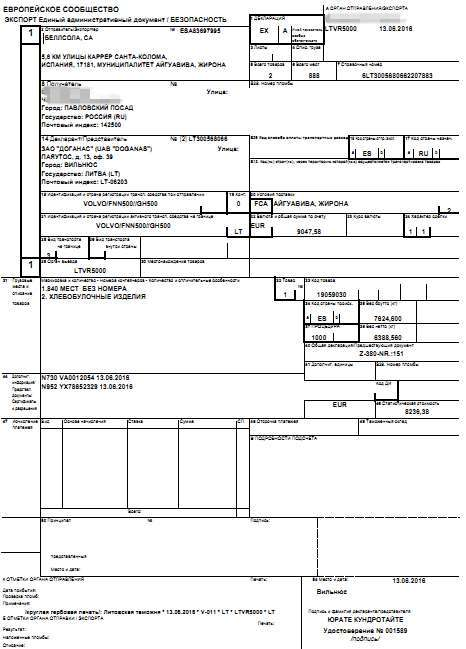 Экспортная декларация: как правильно заполнить и проверить таможенный документ, порядок его оформления