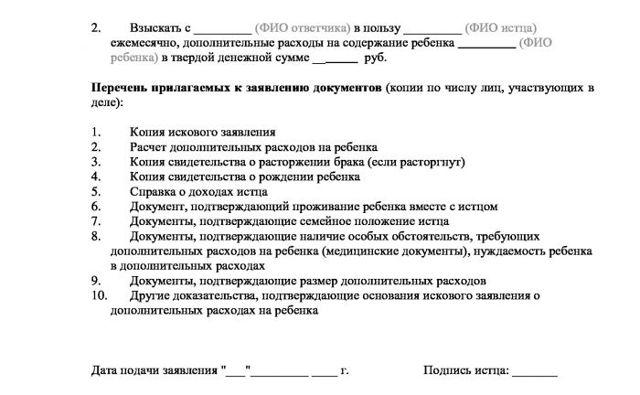 Ст. 86 СК РФ: Участие родителей в дополнительных расходах на детей, условия и права детей на возмещение