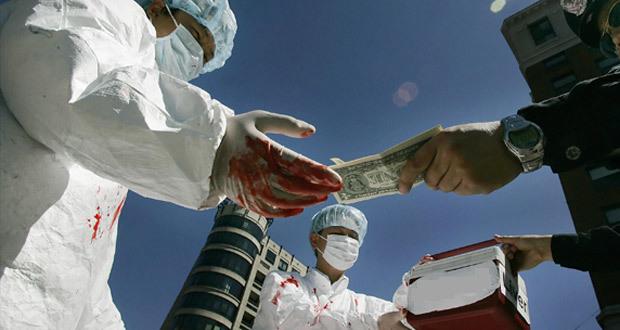 Принуждение к изъятию органов и тканей человека для трансплантации - статья 120 УК РФ
