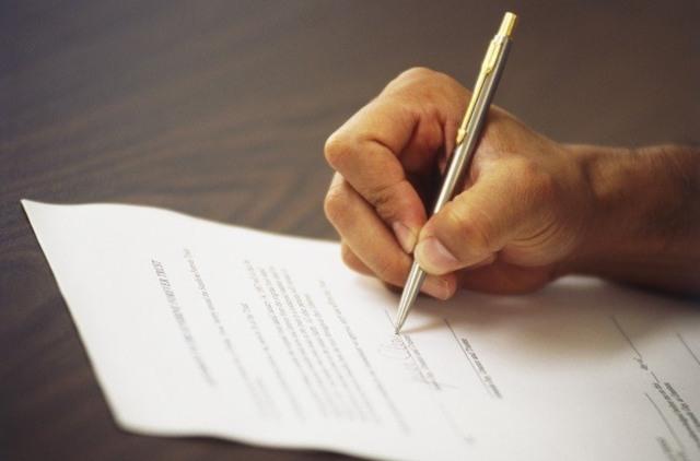 Заявление в полицию о ложном доносе: образец написания